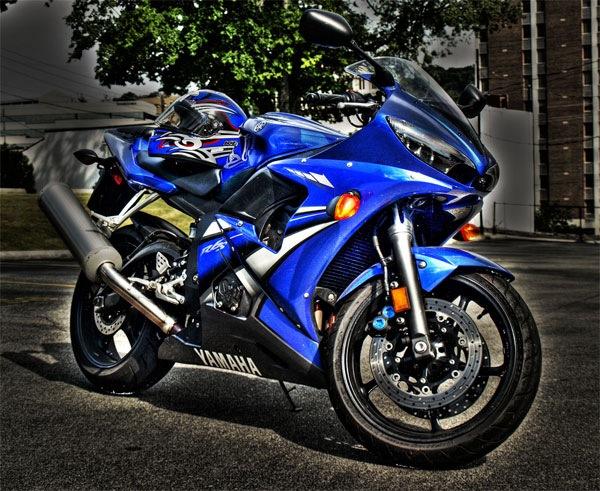 мотоцикл hdr