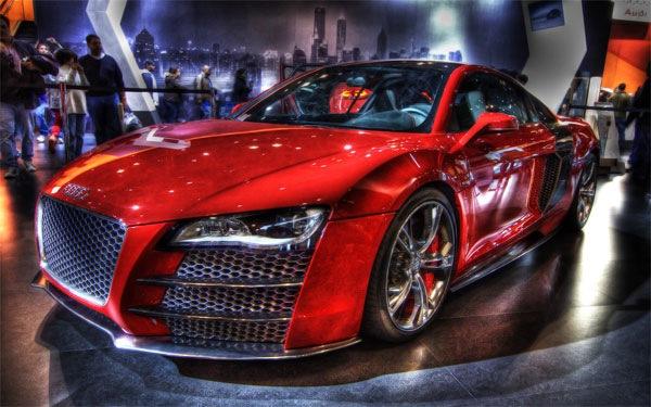 спортивные автомобили в hdr