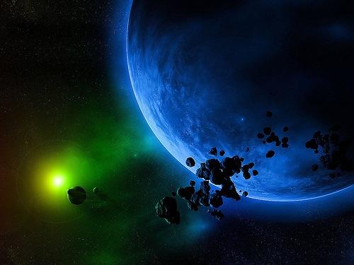 осколки метеоритов