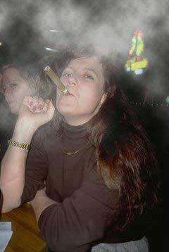 дым сигары