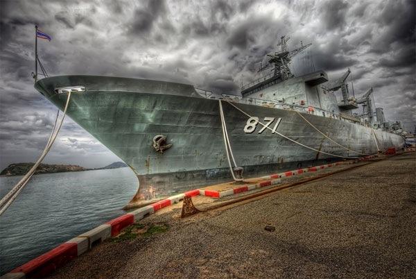 hdr корабль