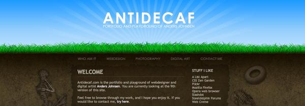 земля и трава в дизайне сайта