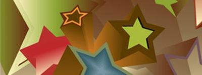 векторные 3d звезды