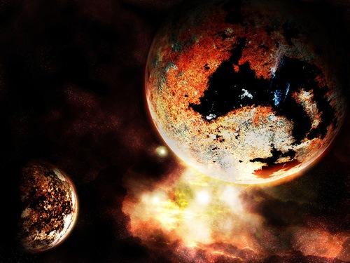 красные планеты