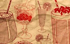 ретро кисти-напитки