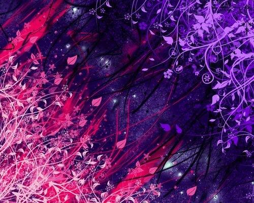 яркие векторные цветы