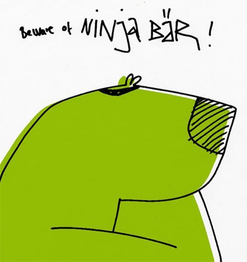 векторный медведь
