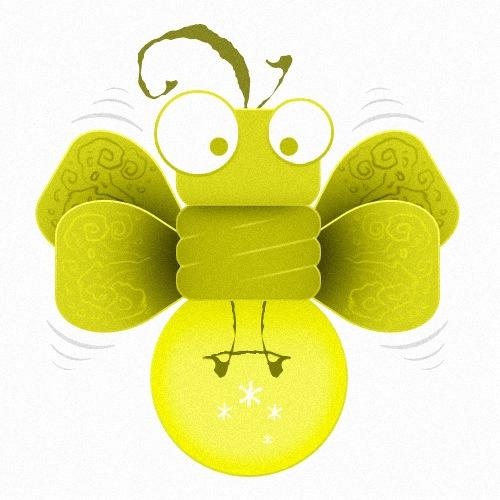 зеленый светлячек