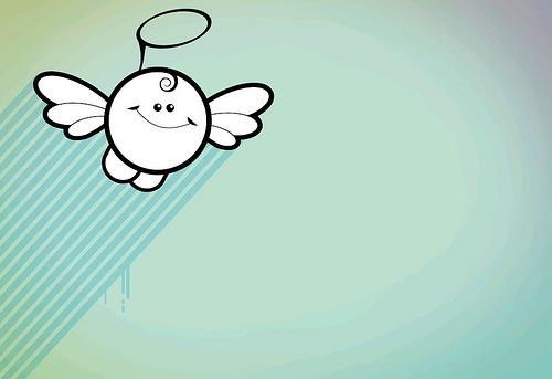 веселый ангелочек
