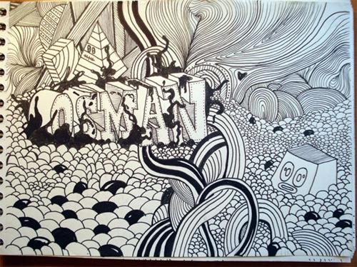 черно-белые иллюстрации