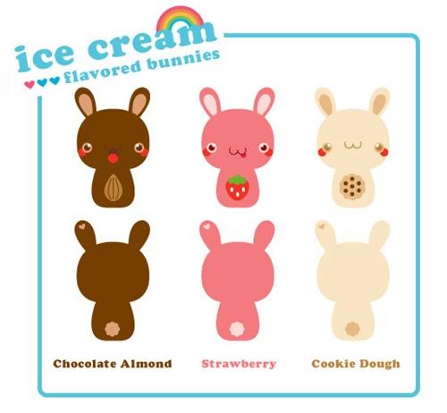 кролики-мороженное