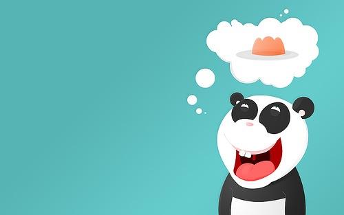 векторная панда