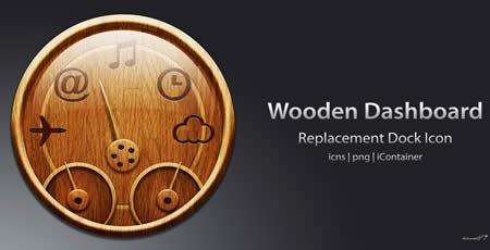 Деревянная панель приборов