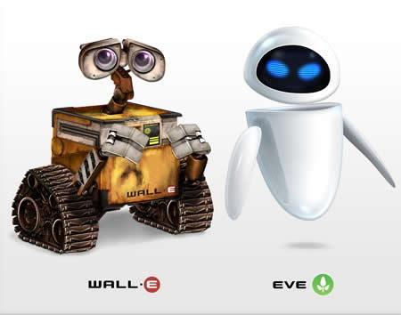 Иконки Валли и Ева