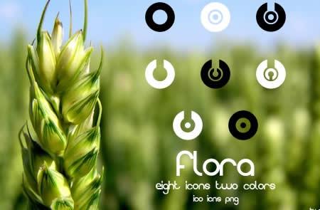 иконки флоры