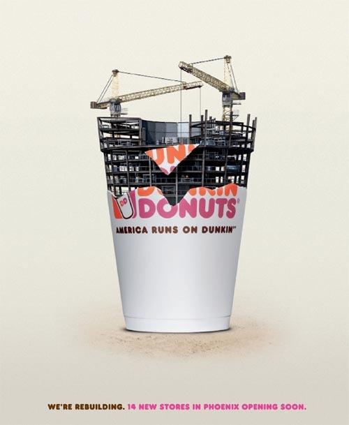 сеть кафе dunkin-donut