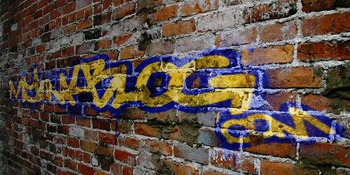 графити эффект