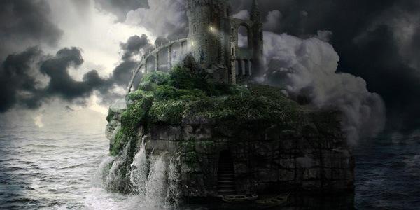 Как создать каменный остров