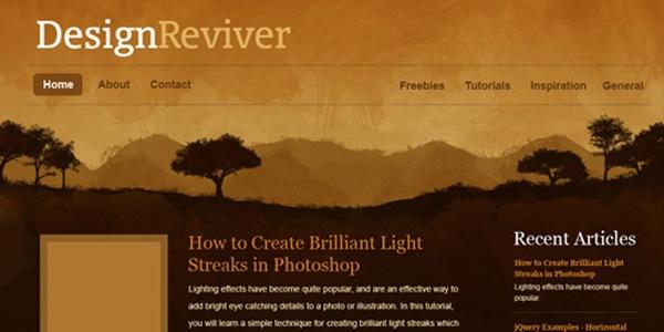 Создайте фон природы в фотошопе