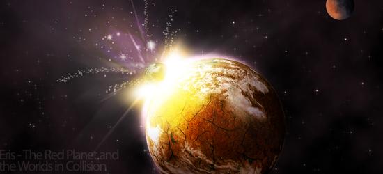 Столкновение планеты .psd