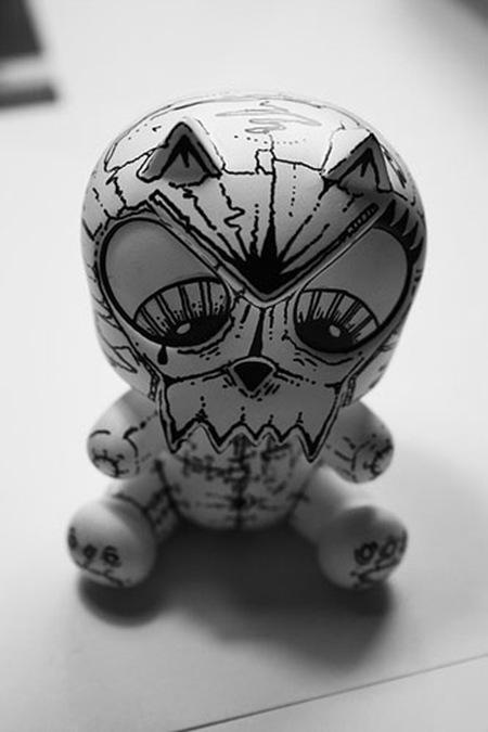 котенок-скелет