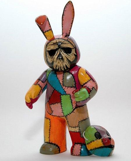 заяц-скелет