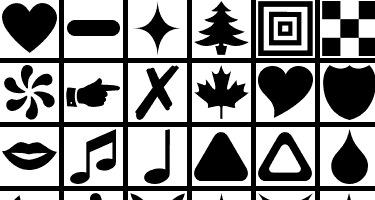 9 наборов форм для фотошопа