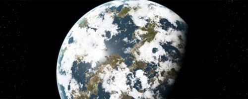 реалистичная Земля