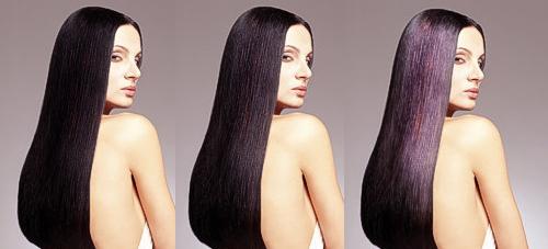 Сделайте волосы сияющими