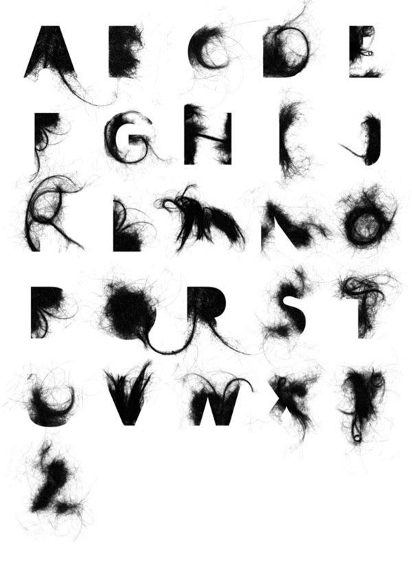волосатый алфавит