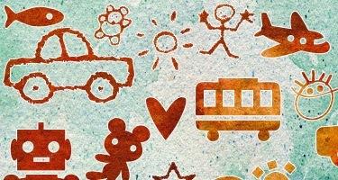 Детские рисунки (каракули)