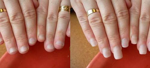 Удлиненные ногти