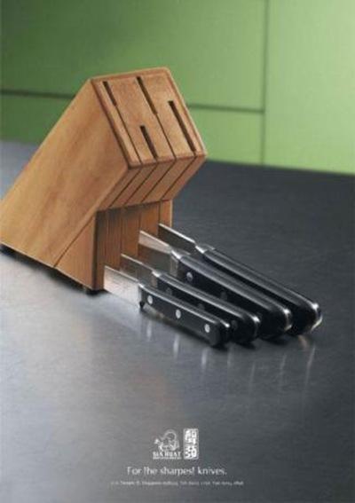 самые острые ножи