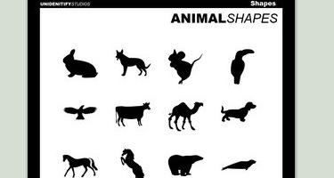 Формы животных для фотошопа