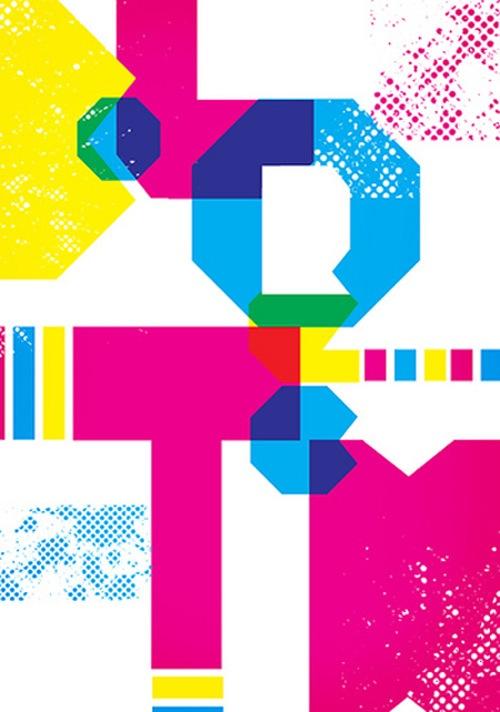 яркая-типографика