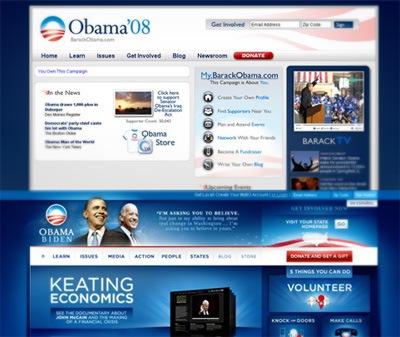 Сайт Барака Обамы