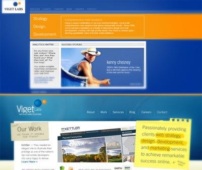 Сайт Viget Labs