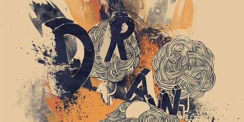 Создайте вдохновляющий артистичный постер с прикольными элементами