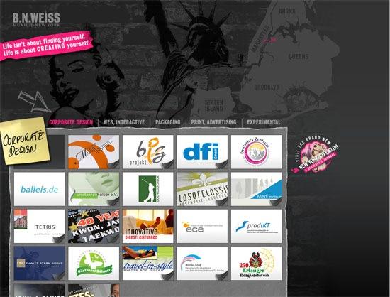 Сайт графического дизайнера