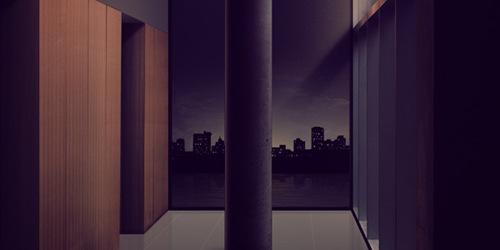 Фотоманипуляция с реалистичным видом ночного города