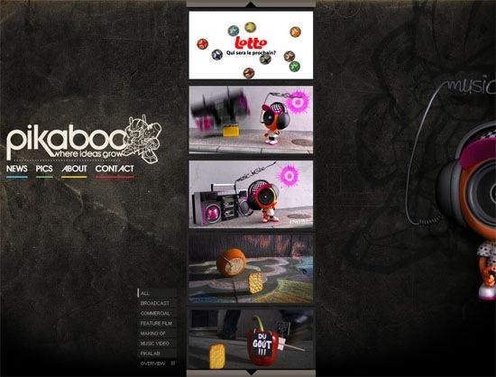 Креативный и необычный сайт