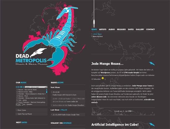 Иллюстрированный сайт