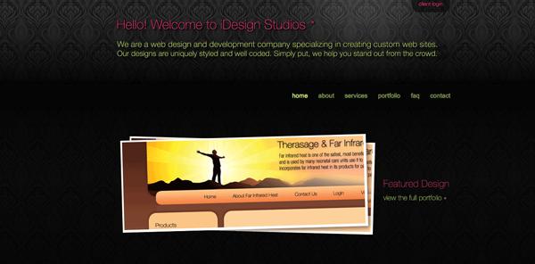 цветочные паттерны на фоне сайта