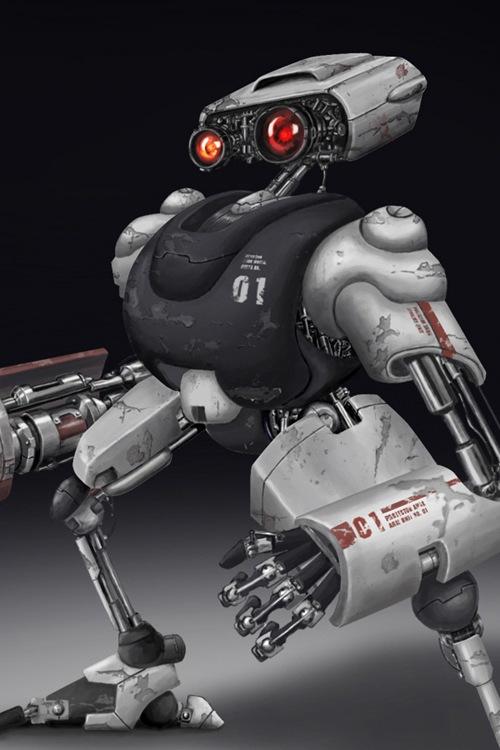 цифровой робот