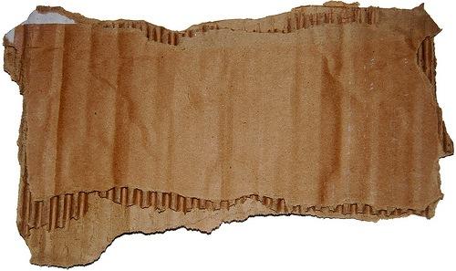 куски рваного картона
