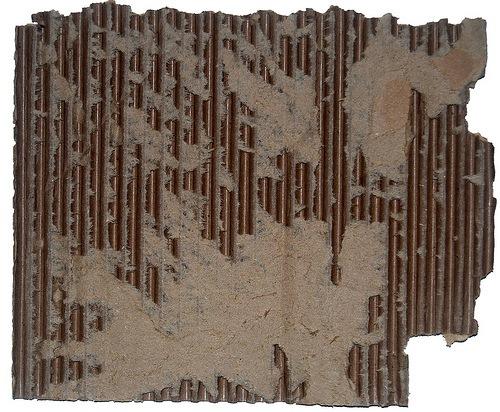 части картонного листа