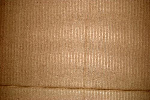 замятый картон