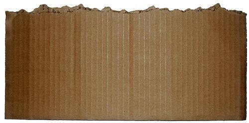 оторванный картонный лист