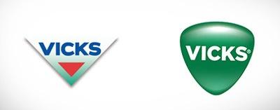 Логотип Vicks