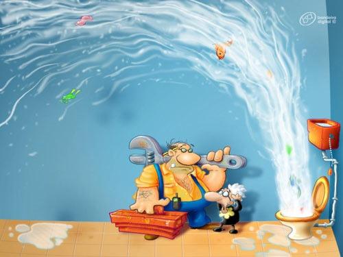 мультипликационная иллюстрация